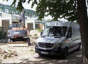 Interessante Baustellen Auftrag Projekt Baustelle Rohrsanierung Schachtsanierung Tierpark Berlin