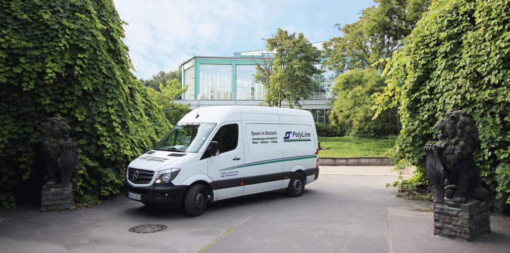 Startseite Tierpark Berlin Sprinter Rohrsanierung Schachtsanierung Baustelle Projekt