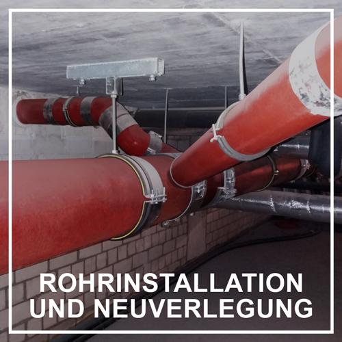 PolyLine Versorgungstechnik GmbH Rohrinstallation Rohrverlegung Rohr verlegen SML-Rohr Geberit KG2000 Rohrmaterialien Rohrverbinder Abwasserleitungen verlegen