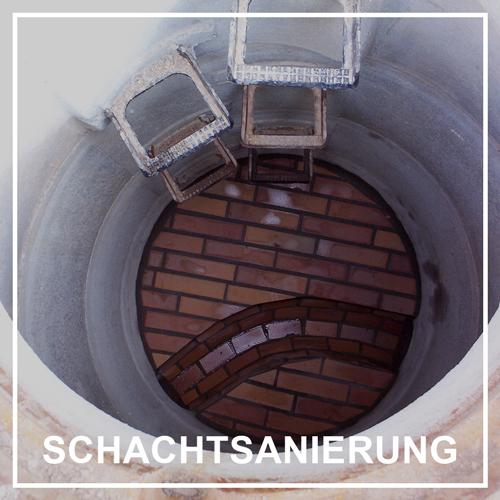 PolyLine Versorgungstechnik GmbH Schachtsanierung Schacht erneuern Schachtsohle Steigeisen Schachtwandung wiederherstellen